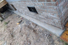 brick skirt vents