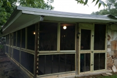 Porch after enclosure