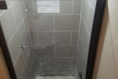 shower construction after 2